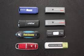 Thumb drives are inexpensive and easy to use