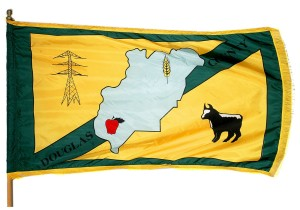 Douglas County does have it's own flag, but still no inventory reports for the last 5 years