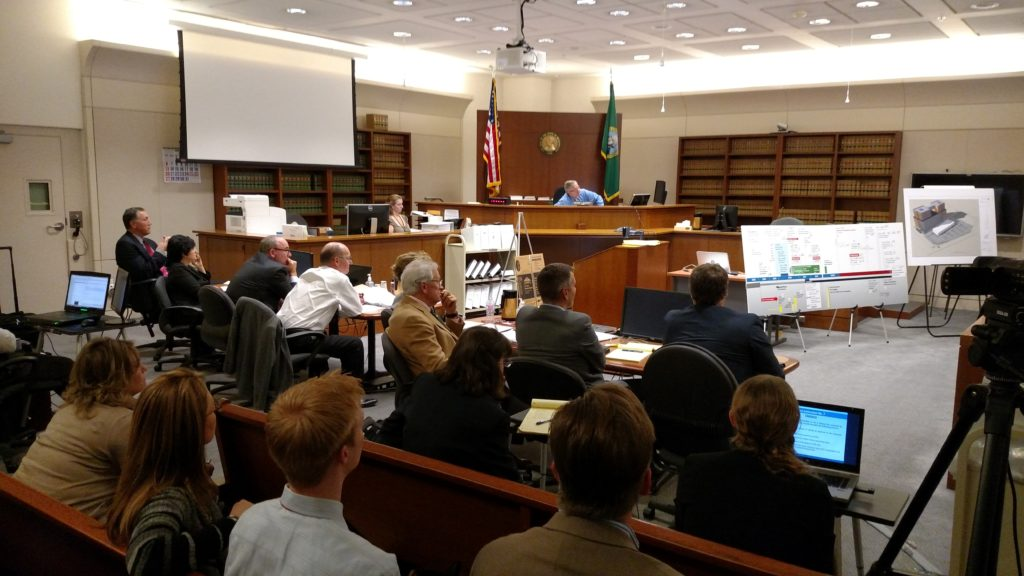 From the spectator's seats - closing arguments in K&S vs. SeaTac - January 2016