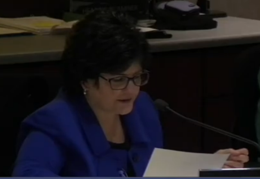 Mary Bartolo - SeaTac City Legal Counsel at a recent City Council Meeting