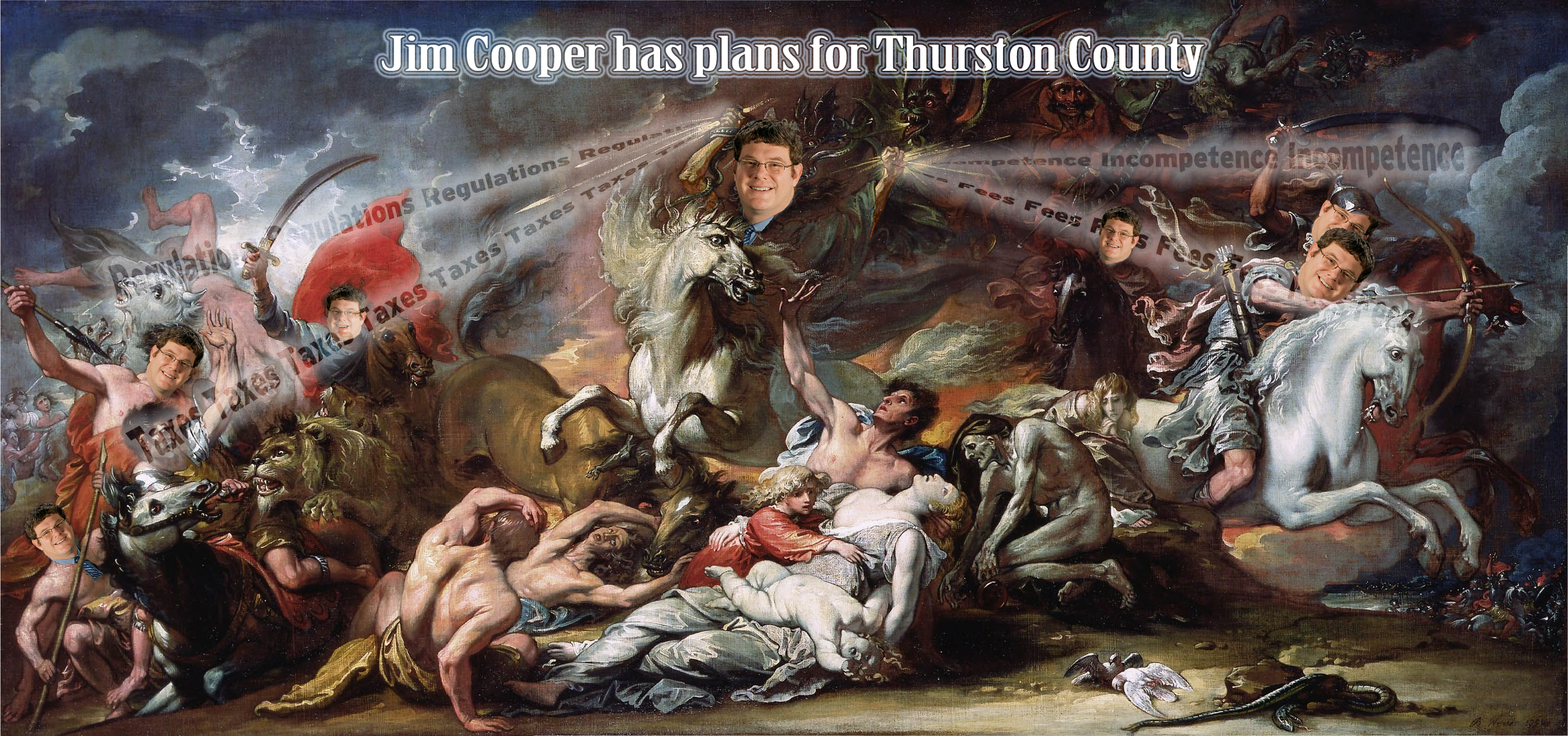 Jim Cooper has terrible plans for Thurston County, but voters get to decide if they want to experience these plans