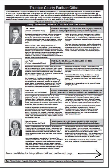 Final Thurston County Voters Guide - District 1 - page1