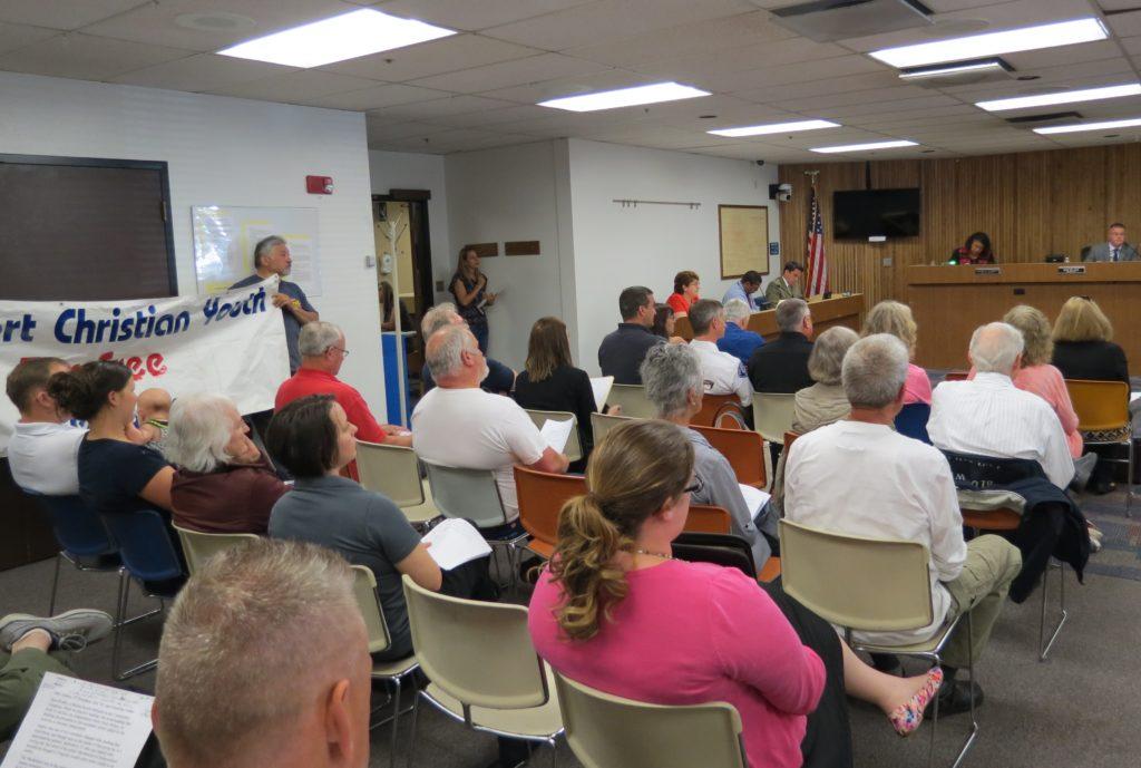 Thurston County fireworks ban hearing