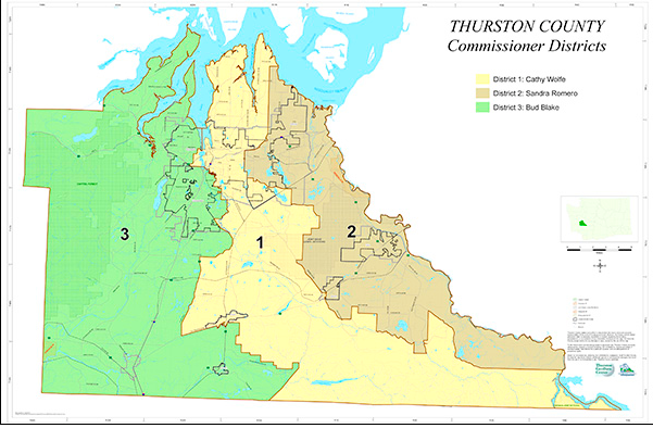 Thurston Commissioner Districts