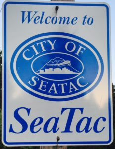 Not everyone gets a warm welcome in SeaTac. Apparently some people have their property stolen by city staff