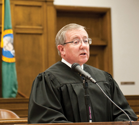 Judge McDermott found SeaTac guilty of deception and dishonesty on Friday.