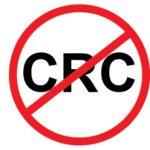 No CRC