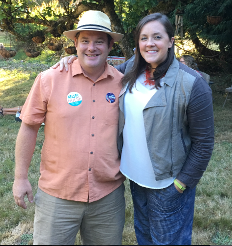 Jim Cooper and Kelsey Hulse - the best the Democrats had to offer for Thurston County