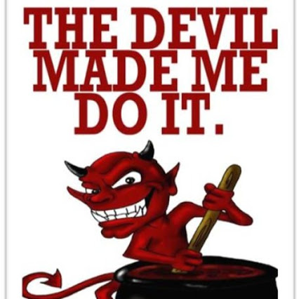 The devil made me do it   We the Governed