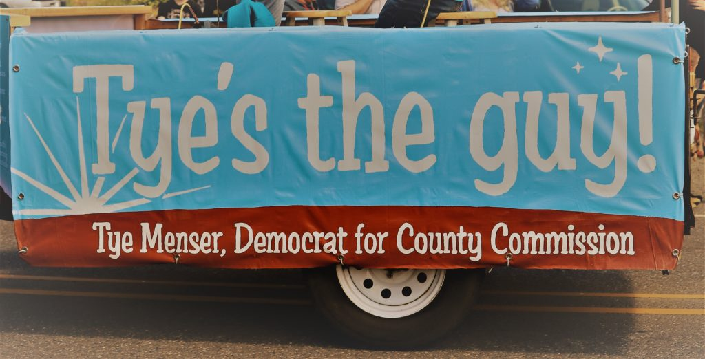 Four candidates vie for the Thurston County Commission, but