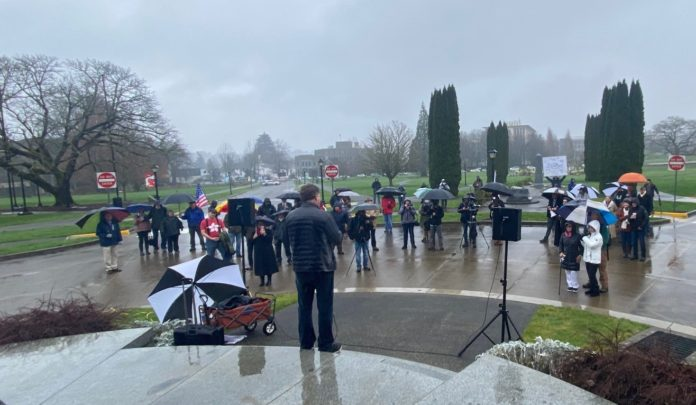 Victory! Washington State backs down, suspends free speech suppression policy at the Capitol